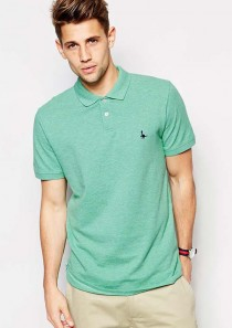 Jack Wills Polo in Marl Regular Fit  Cotton Swift