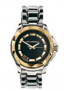 Karl Lagerfeld Silver Bracelet Strap Watch KL1031