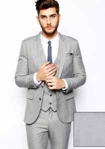 River Island Blazer in Skinny Fit With 2 Buttons